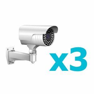 Комплект видеонаблюдения для 3 камеры
