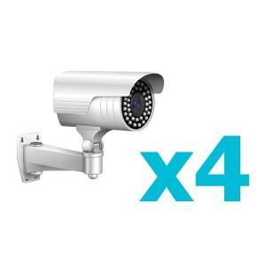 Комплект видеонаблюдения для 4 камеры
