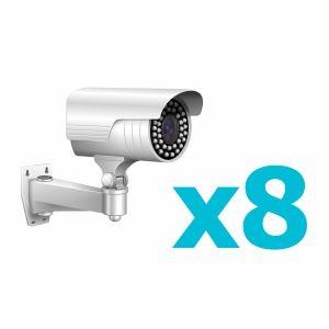 Комплект видеонаблюдения для 8 камер