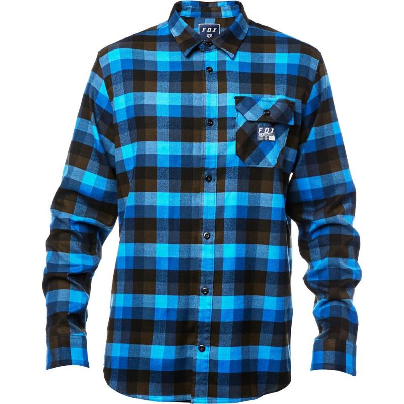 Fox - Rovar Flannel Dust Blue рубашка, синяя