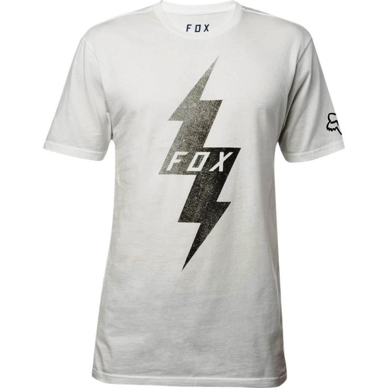 Fox - Pre Mortum SS Premium Tee Chalk футболка, серая