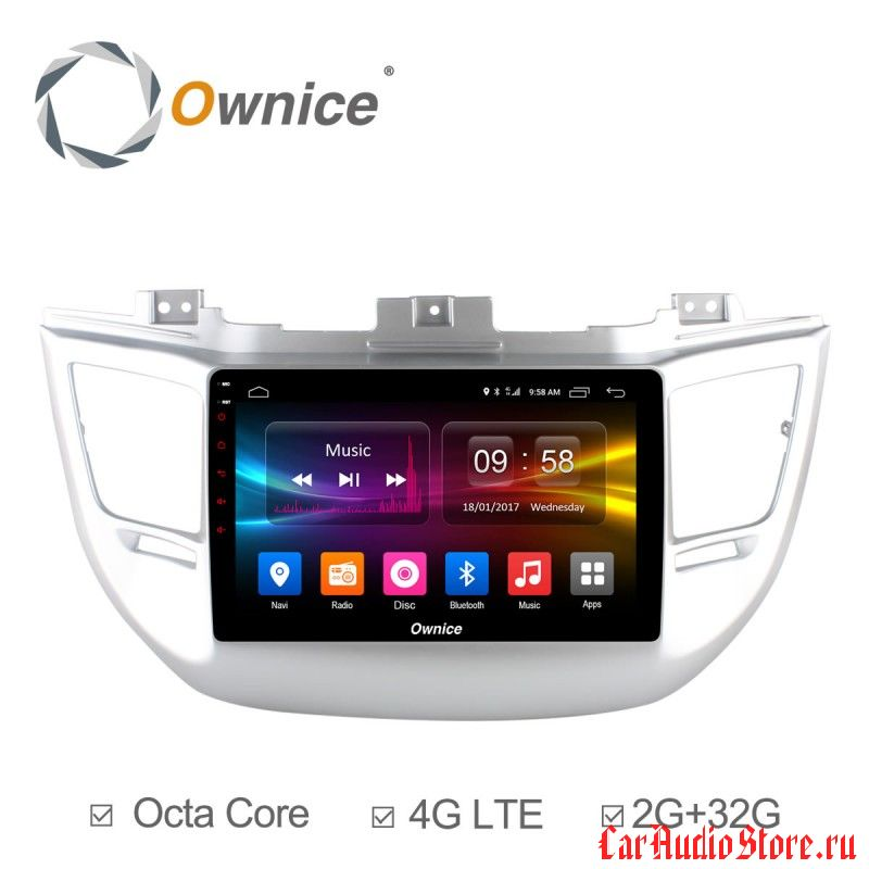 Ownice C500+ S9705P для Hyundai Tucson 2016 (Android 6.0)