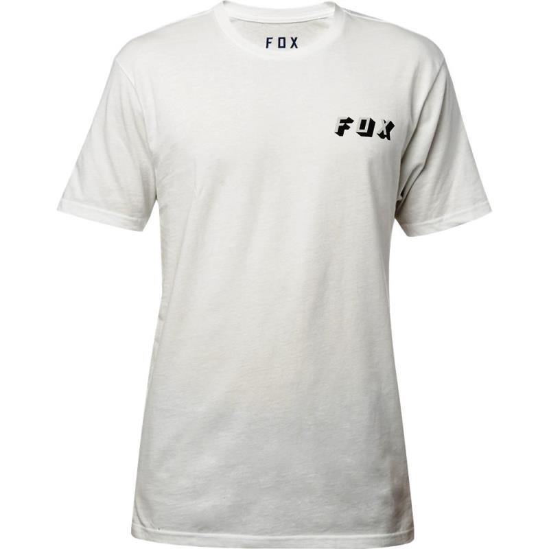Fox - Double Uppers SS Premium Tee Chalk футболка, серая