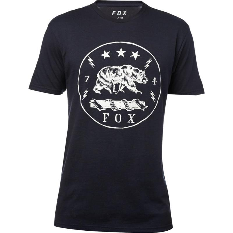 Fox - Revealer SS Premium Tee Heather Midnight футболка, синяя
