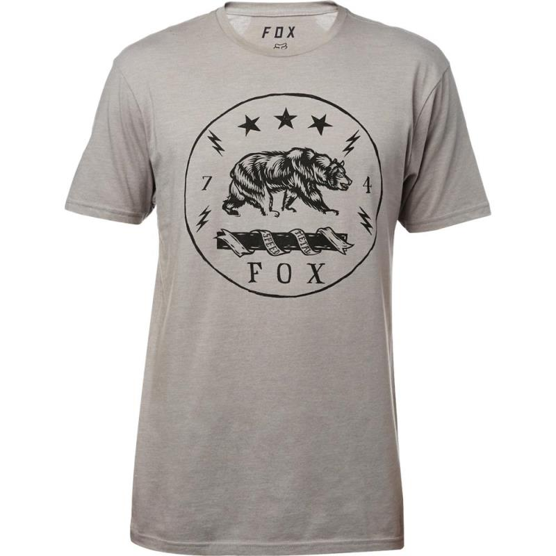 Fox - Revealer SS Premium Tee Heather Dark Grey футболка, тёмно-серая