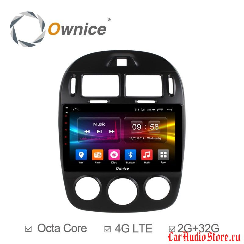 Ownice C500+ S1741P для KIA Cerato 2 (Android 6.0)