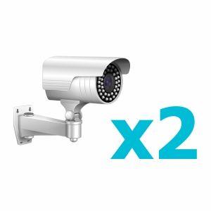 Комплект видеонаблюдения для 2 камеры
