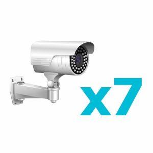 Комплект видеонаблюдения для 7 камер