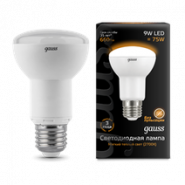 Лампа Gauss LED R63 E27 9W 2700K