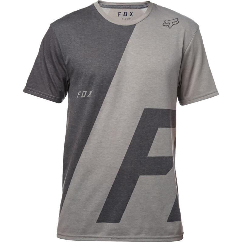 Fox - Inverter SS Tech Tee Heather Dark Grey футболка, серая