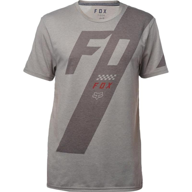 Fox - Scalene SS Tech Tee Heather Dark Grey футболка, серая