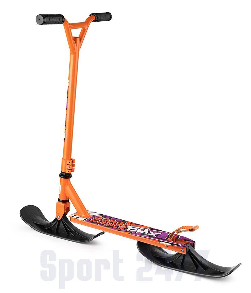Самокат-снегокат с лыжами и колесами Small Rider Combo Runner BMX