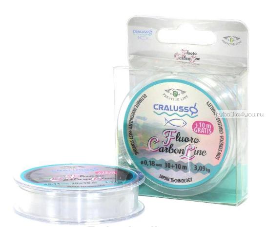 Флюорокарбон Cralusso Fluoro Carbon 30+10м