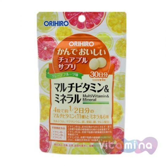Orihiro Японские Мультивитамины и минералы