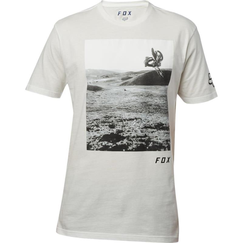 Fox - Picogram SS Premium Tee Chalk футболка, серая