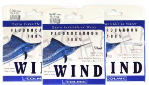 Леска флюрокарбон Colmic Wind 50 м
