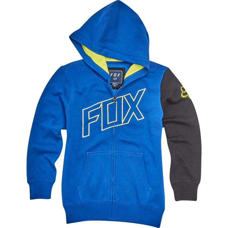 Fox - Youth Moto Vation Zip Blue толстовка подростковая, синяя