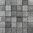 CARPET GRAY. 48x48 Мозаика серия GLASSTONE, размер, мм: 300*300*8 (ORRO Mosaic)