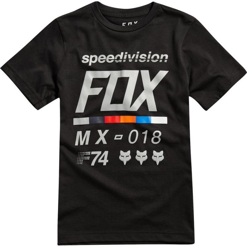 Fox - Youth Draftr SS Tee Black футболка подростковая, черная