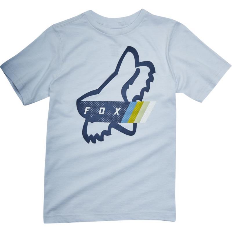 Fox - Youth Fourth Division SS Tee Heather Grey футболка подростковая, серая