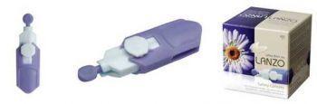 Ланцеты безопасные (одноразовые) Lanzo SL 30G UltraThin 1,6мл (фиолетовые)
