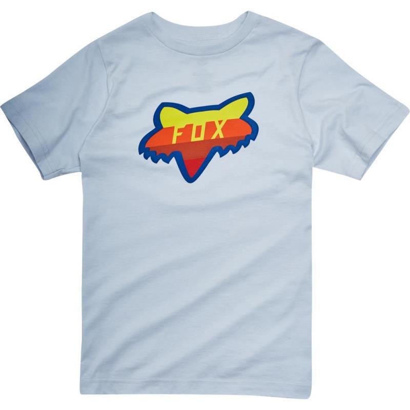 Fox - Youth Draftr Head SS Tee Heather Grey футболка подростковая, серая
