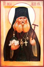 Исаакий I Оптинский (Антимонов)  (рукописная икона)