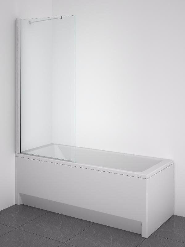 Шторка для ванной Am.Pm Sense из стекла ФОТО