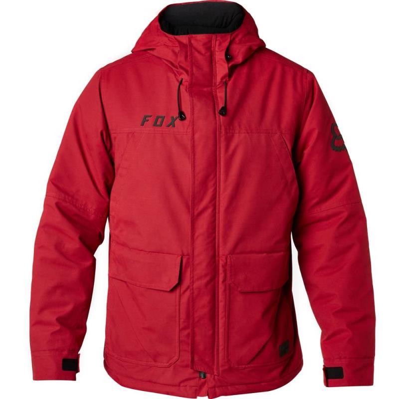 Fox - Trackside Jacket Dark Red куртка, красная