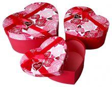 """Набор коробок 3 в 1 """"C любовью. Розы"""""""