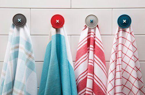Магнитный держатель кухонных полотенец Button Up