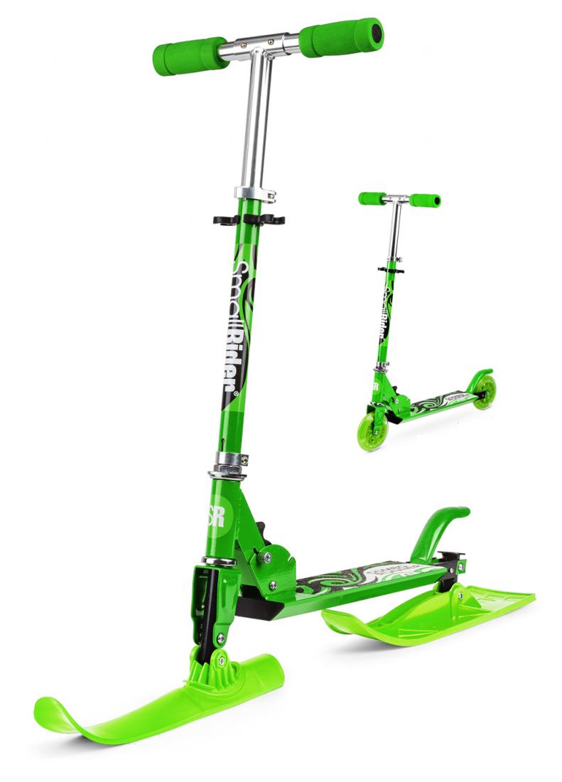 Самокат-снегокат с лыжами и колесами Small Rider Combo Runner 120