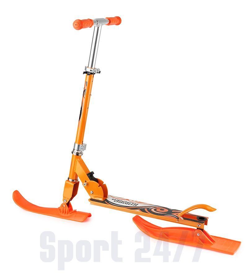 Самокат-снегокат с лыжами и колесами Small Rider Combo Runner 145
