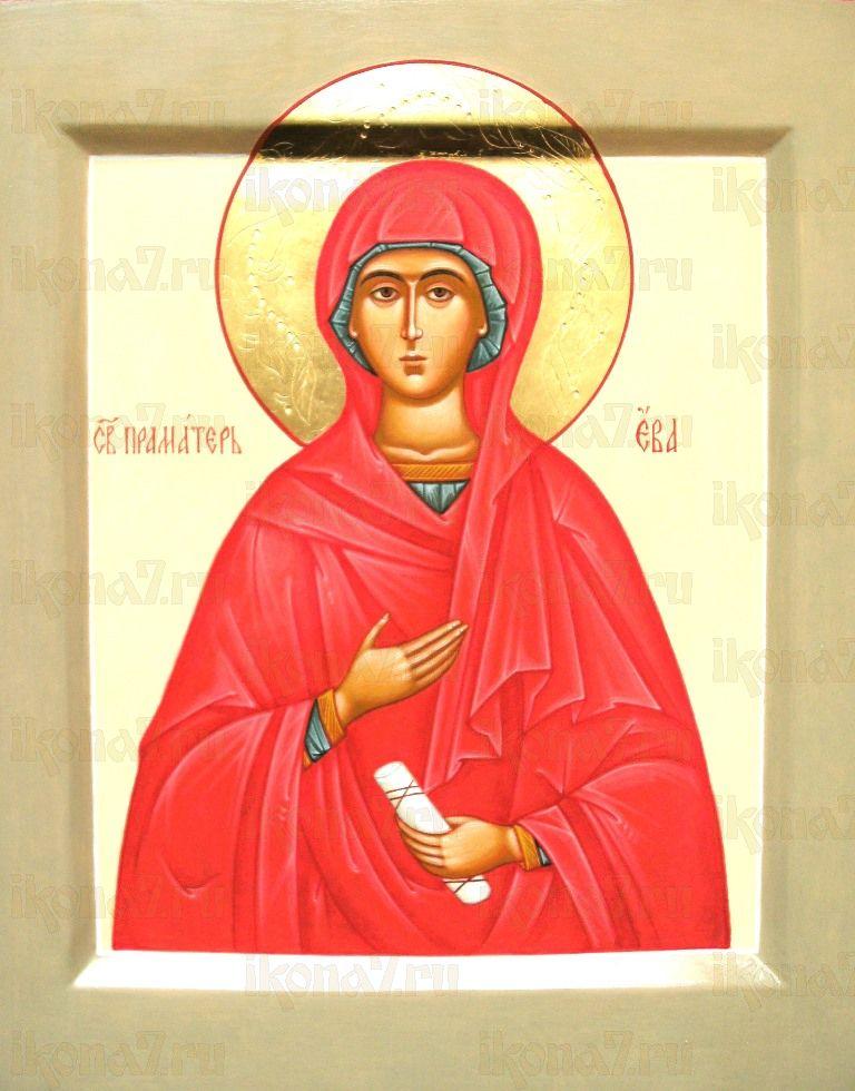 Ева, праматерь (икона на дереве)