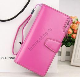Кошелёк Woman Baellerry Wallet Pu Clutch Bag розовый