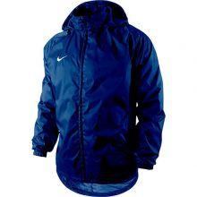 Детская ветровка Nike Foundation 12 Rain Jacket With Hood Waterproof With Zip Junior тёмно-синяя