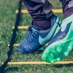 Футбольные бутсы Nike Tiempo Legend VI FG тёмно-синие