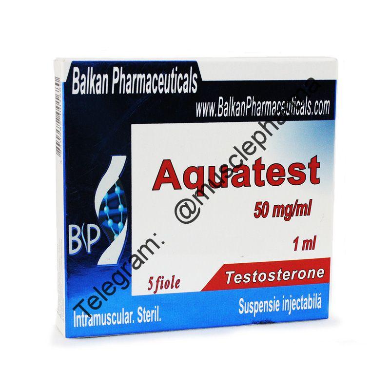 AQUATEST (БАЛКАН ФАРМА). 1 ампула * 1 мл. (100 мг)