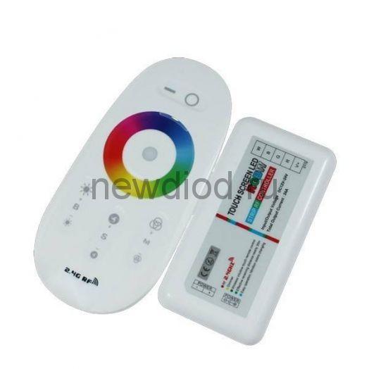 Сенсорный RGB-контроллер Touch 12/24V 216/432W 18А OREOL