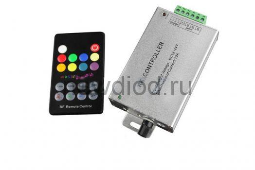 Аудиоконтроллер RGB RF18K (12-24V, 144-288W)