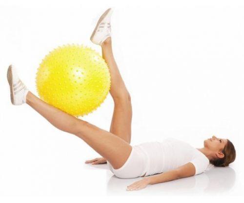 Мяч гимнастический игольчатый Тривес