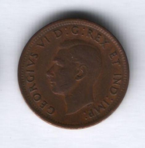 1 цент 1947 г. Канада