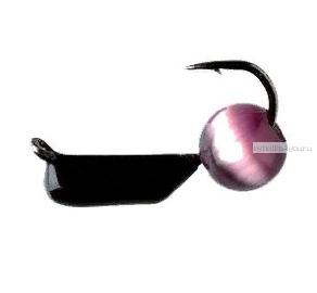 Купить Мормышка вольфрамовая True Weight Кошачий глаз гвоздик d2,0 индиго (10шт)