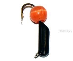 Купить Мормышка вольфрамовая True Weight Кошачий глаз гвоздик d3,0 оранжевый (10шт)