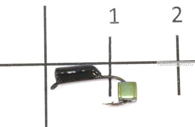 Купить Мормышка вольфрамовая True Weight ГвоздеКубик гвоздик d3,0 кубик Зеленый