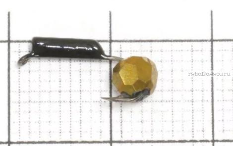 Купить Мормышка вольфрамовая True Weight Гвоздешарик гвоздик d3,0 Многогранное золото