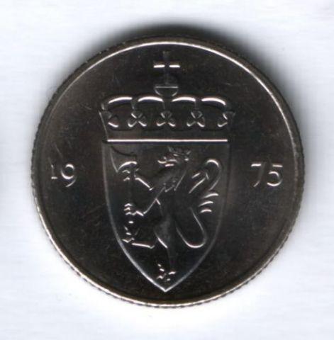 50 эре 1975 г. Норвегия UNC