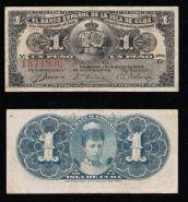 Куба 1 песо 1896. ХОРОШАЯ №1374936