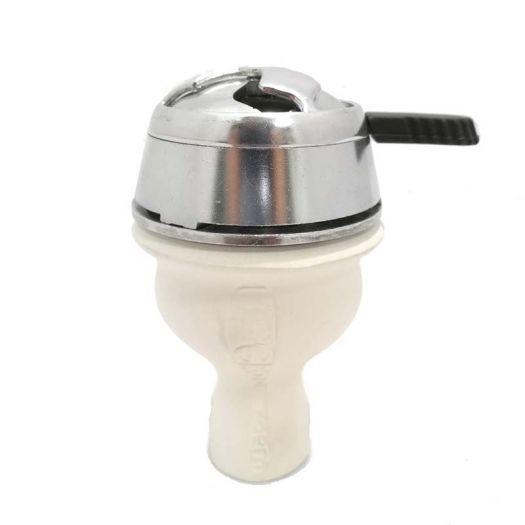 Глиняная Чаша для кальяна UPG HC-30 + Калоуд Lotus