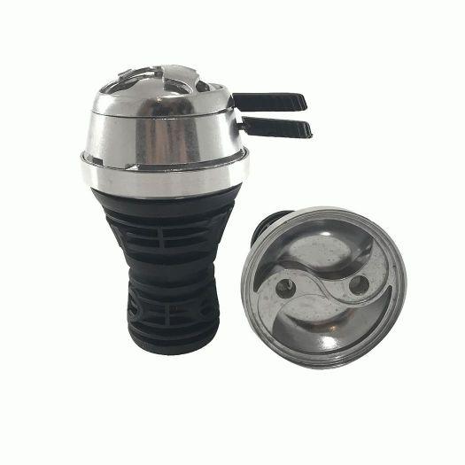 Металлическая Чаша для кальяна HC-28 + Калоуд Lotus
